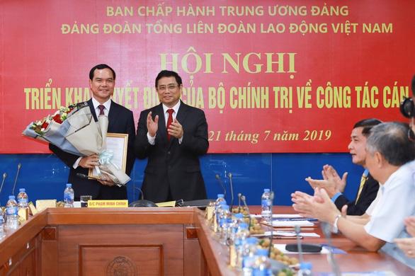 Bí thư Hà Nam làm bí thư Đảngđoàn Tổng liên đoàn Lao động Việt Nam - Ảnh 1.