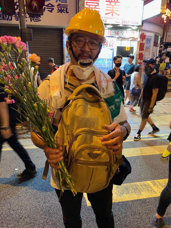 """""""we want to be a buffer, we don't want protesters to be hurt hong kong scmp"""