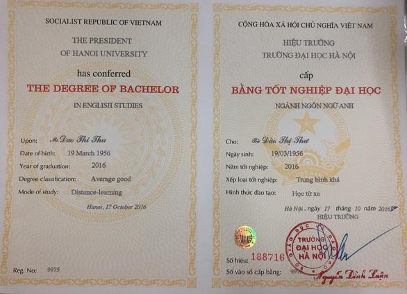 Cử nhân Anh văn 63 tuổi đăng ký xét tuyển vào đại học lần nữa để thỏa đam mê - Ảnh 4.