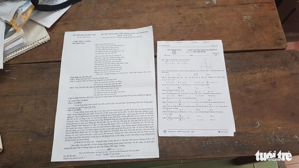 Thí sinh thi trên bộ đề in giấy A3 được miễn toàn bộ học phí vào trường du lịch - Ảnh 2.