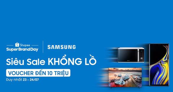 Shopee và Samsung công bố hợp tác chiến lược - Ảnh 1.