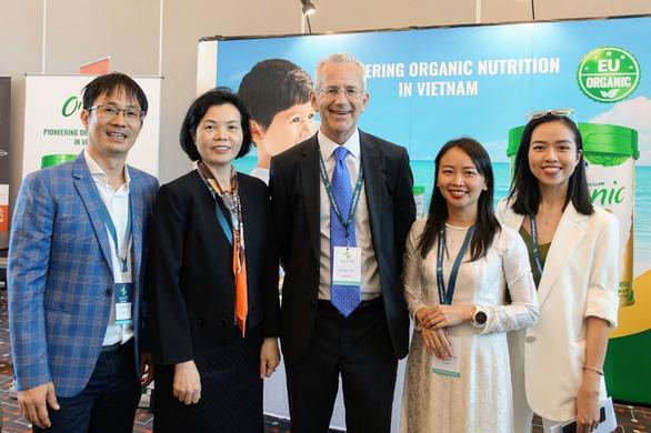 Sữa bột Organic cho trẻ của Vinamilk gây chú ý tại hội nghị sữa toàn cầu - Ảnh 3.