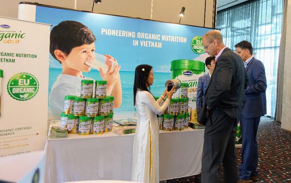 Sữa bột Organic cho trẻ của Vinamilk gây chú ý tại hội nghị sữa toàn cầu - Ảnh 6.