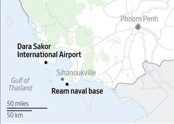 Campuchia âm thầm cho Trung Quốc dùng căn cứ hải quân trong 30 năm? - Ảnh 2.