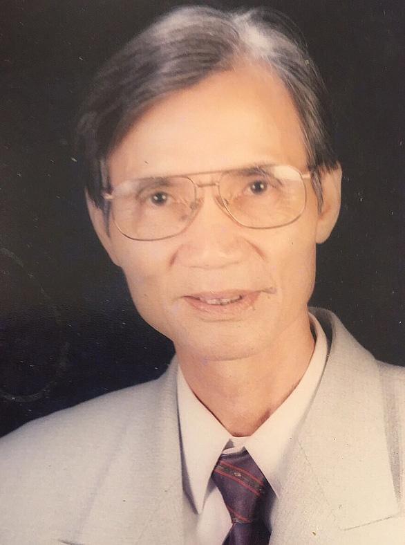 Vĩnh biệt phó giáo sư, nhà giáo ưu tú Nguyễn Nguyên Trứ - Ảnh 1.