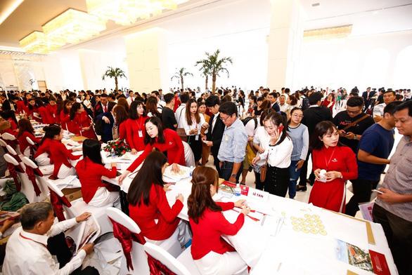 Cát Tường Phú Hưng tiếp tục bùng nổ trong lễ mở bán đợt 4 - Ảnh 1.