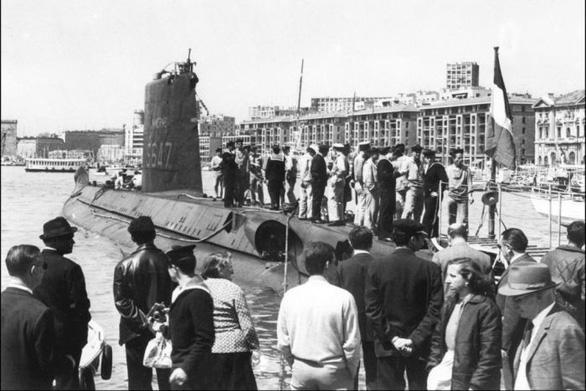 Tìm thấy tàu ngầm Pháp sau hơn nửa thế kỷ mất tích - Ảnh 5.