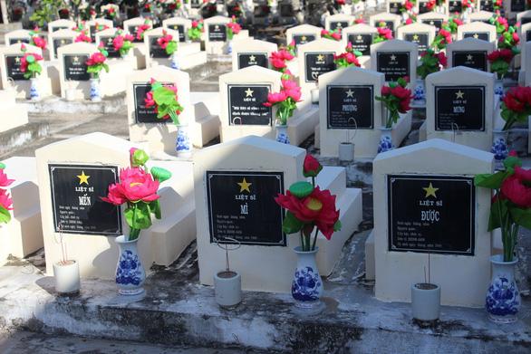 Trở về đất mẹ - Kỳ 1: Nghĩa trang liệt sĩ nơi biên giới Tây Nam - Ảnh 4.