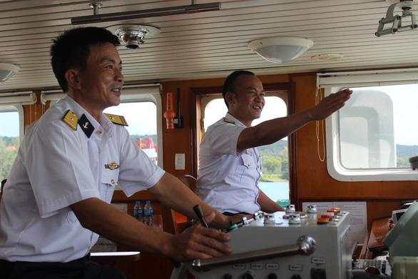 Anh lính biển nhiều sáng kiến ở tàu 954 - Ảnh 1.