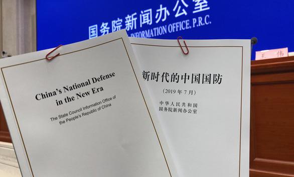 Trung Quốc công bố Sách trắng, nói Biển Đông nói chung ổn định và đang cải thiện - Ảnh 1.