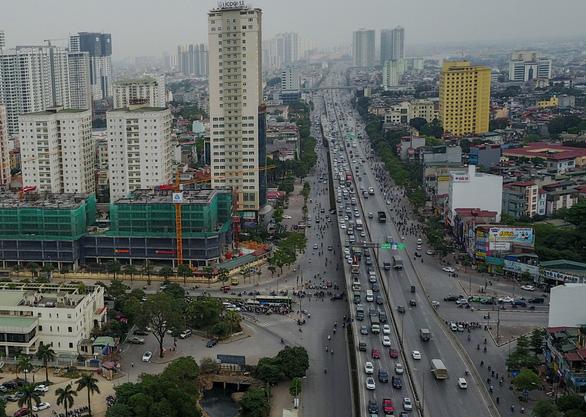 Sẽ thu phí ôtô vào nội thành Hà Nội từ đường vành đai 3 - Ảnh 1.