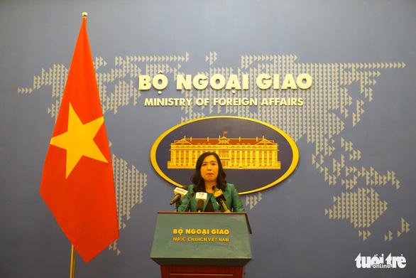 Bộ Ngoại giao: Việt Nam kiên quyết bảo vệ chủ quyền ở Biển Đông - Ảnh 1.