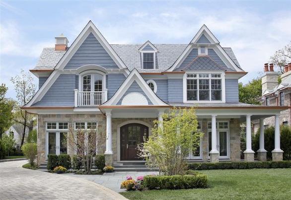 10 màu sơn ngoại thất đẹp tuyệt cho ngôi nhà - Ảnh 2.