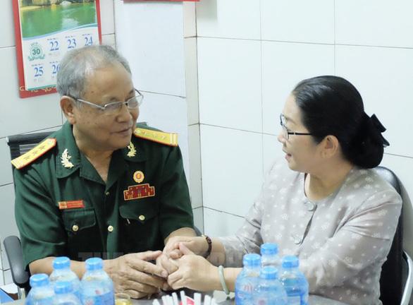 Bí thư Nguyễn Thiện Nhân đi thăm Mẹ Việt Nam Anh hùng, thương binh - Ảnh 3.