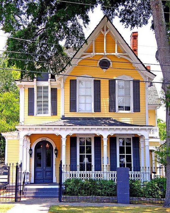 10 màu sơn ngoại thất đẹp tuyệt cho ngôi nhà - Ảnh 6.