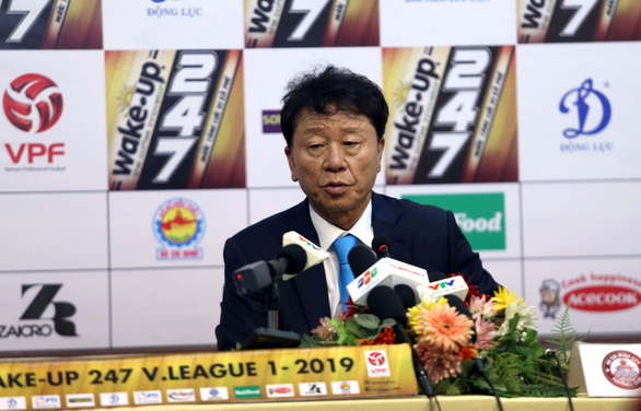 HLV Chung Hae Soung: V-League có 15.000 - 20.000 khán giả không khó - Ảnh 1.
