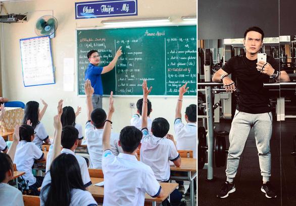 Học trò tấn phong tôi là... thầy giáo hot boy - Ảnh 1.