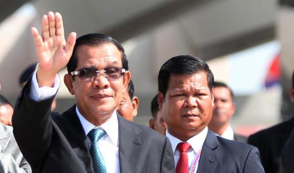 Dân mạng lại đồn ông Hun Sen bệnh nặng - Ảnh 1.