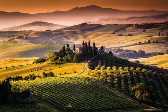 Khám phá con đường rượu vang Toscany - miền trung nước Ý - Ảnh 2.