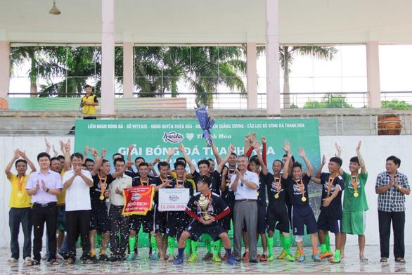 FC Thiệu Nguyên vô địch Cup Huda 2019 - Ảnh 1.