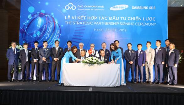 Samsung SDS đầu tư mua 25% cổ phần của CMC - Ảnh 1.