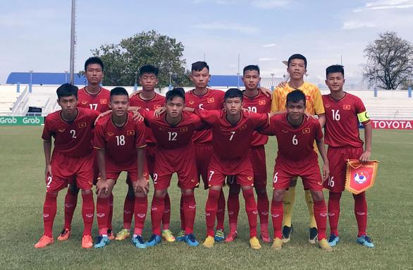 Đá phạt đền không vô, U15 VN thua Indonesia ngày ra quân Giải U15 Đông Nam Á 2019 - Ảnh 1.