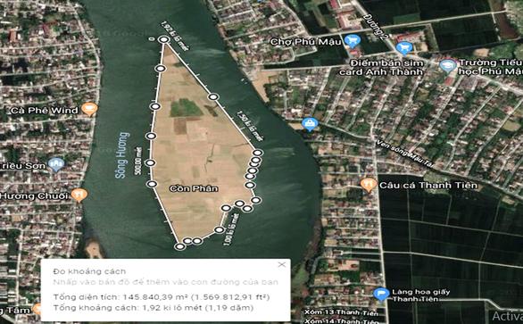 Huế sẽ có vườn bách thảo nằm giữa dòng sông Hương - Ảnh 1.