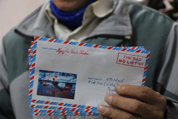 Người đàn ông thầm lặng gửi 18.000 lá thư báo mộ liệt sĩ - Ảnh 2.