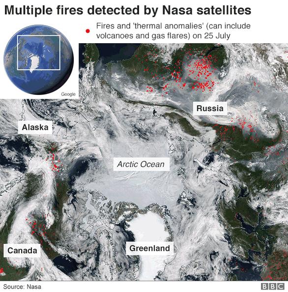 Cực Bắc chìm trong hỏa ngục cấp độ toàn cầu, chuyện gì đang xảy ra? - Ảnh 2.