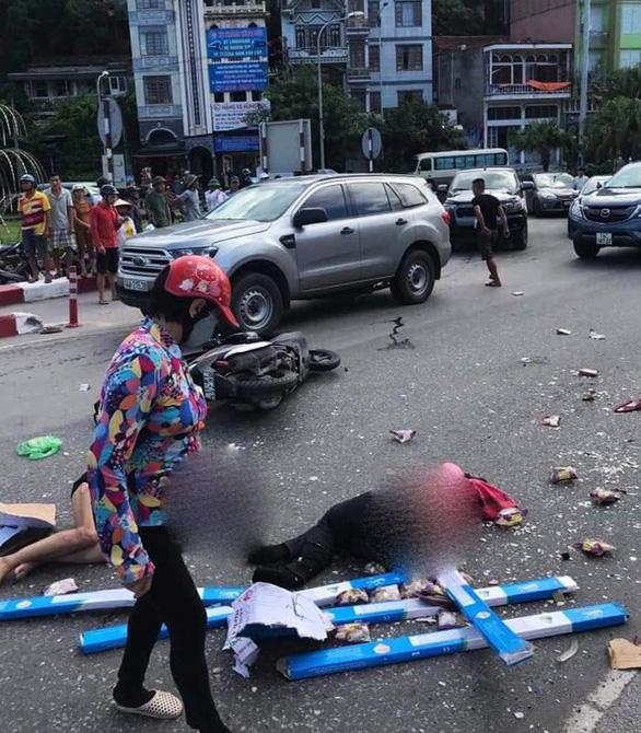 Khởi tố tài xế gây tai nạn làm 2 người chết gần chân cầu Bãi Cháy - Ảnh 1.