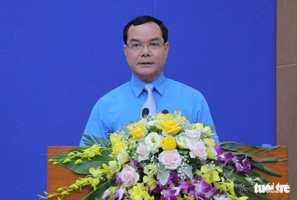 Ông Nguyễn Đình Khang là tân chủ tịch Tổng liên đoàn Lao động Việt Nam - Ảnh 2.