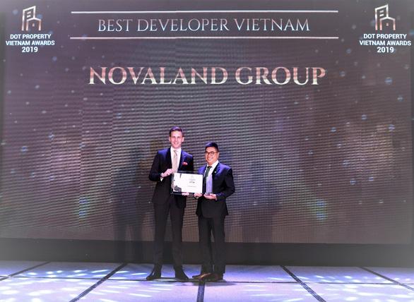 Novaland đoạt giải Best Developer Vietnam tại Dot Property Awards 2019 - Ảnh 1.