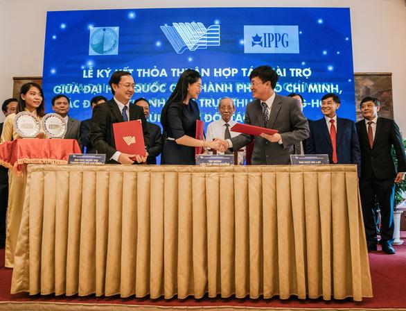 IPPG tài trợ 10 triệu USD cho Quỹ Phát Triển Đại học Quốc Gia TP.HCM - Ảnh 3.