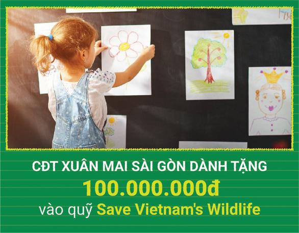 Cuộc thi vẽ Giấc mơ xanh lan tỏa thông điệp bảo vệ môi trường - Ảnh 2.