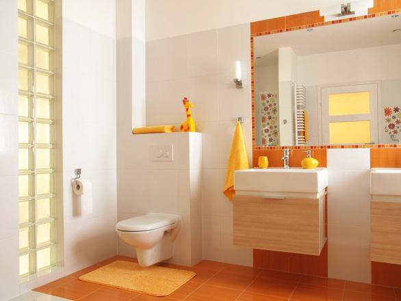 Thiết kế phòng tắm đáng yêu khiến bé mê tít - Ảnh 8.