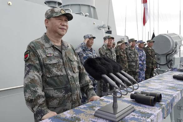 Trung Quốc tuyên bố tập trận lớn, sát nách Đài Loan - Ảnh 1.