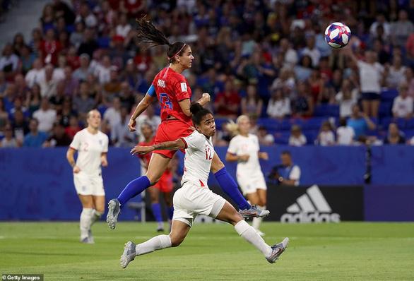 Đá bại Anh, tuyển nữ Mỹ vào chung kết World Cup - Ảnh 4.
