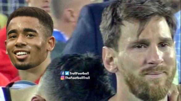 CĐV kêu gọi Messi 'bỏ' Argentina vì có đồng đội kém - Ảnh 9.