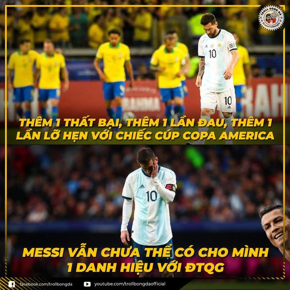 CĐV kêu gọi Messi 'bỏ' Argentina vì có đồng đội kém - Ảnh 8.