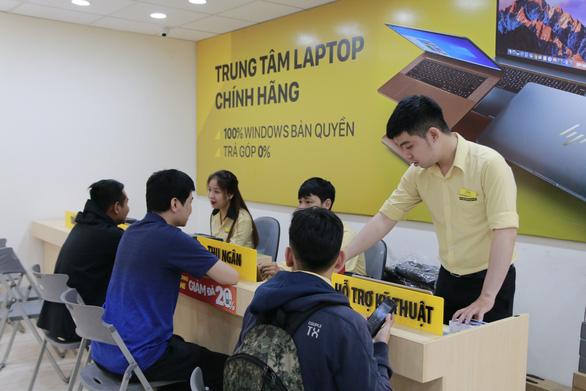 Thế Giới Di Động khai trương trung tâm laptop chính hãng quy mô lớn - Ảnh 3.