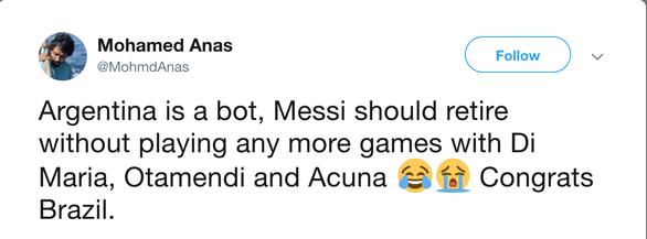 CĐV kêu gọi Messi 'bỏ' Argentina vì có đồng đội kém - Ảnh 3.