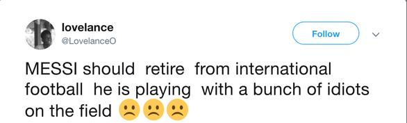 CĐV kêu gọi Messi 'bỏ' Argentina vì có đồng đội kém - Ảnh 5.