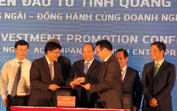 Thủ tướng Nguyễn Xuân Phúc: Quảng Ngãi phải phát triển sạch - Ảnh 1.