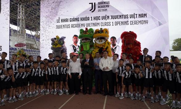 60 cầu thủ nhí trúng tuyển khóa đầu Học viện Juventus VN - Ảnh 2.