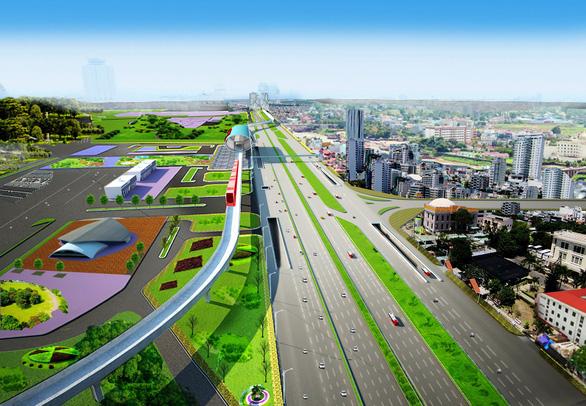 437 tỉ đồng xây cầu vượt trước Bến xe Miền Đông mới - Ảnh 2.