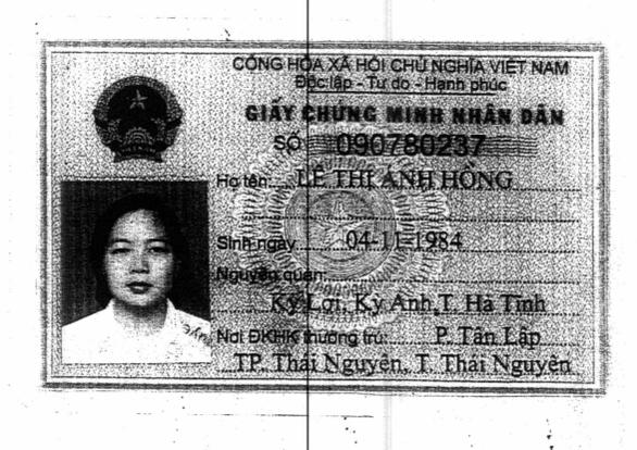 Nhờ người Trung Quốc làm... chứng minh nhân dân - Ảnh 2.