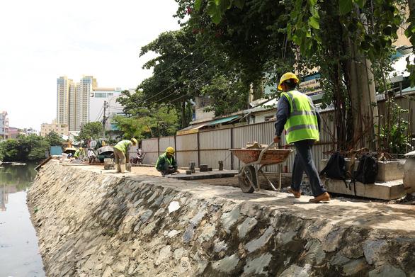 Hoàn thành dự án kênh Hàng Bàng chống ngập nước - Ảnh 3.