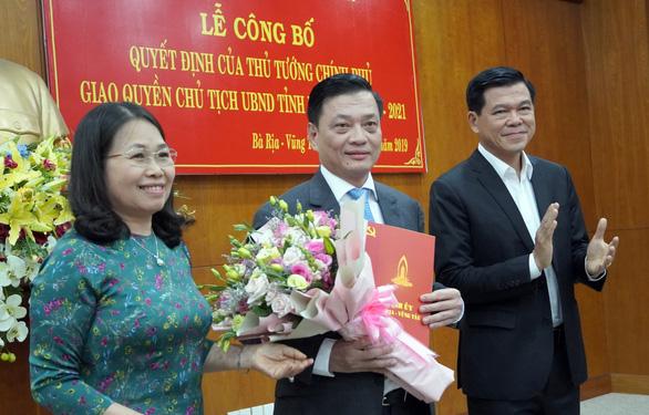 Ông Nguyễn Thành Long nắm quyền chủ tịch UBND tỉnh Bà Rịa - Vũng Tàu - Ảnh 1.