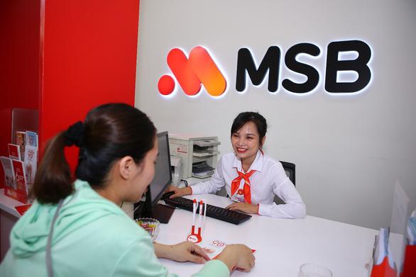 MSB: lợi nhuận trước thuế tăng 192% - Ảnh 1.