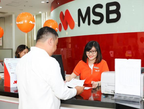 MSB: lợi nhuận trước thuế tăng 192% - Ảnh 2.